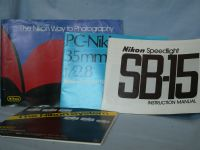 4 x Nikon Instructions / Brochures -HARD TO FIND- -NICE-                £9.99